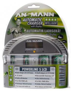 ANSMANN - Powerline 5 LCD
