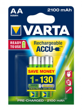 VARTA - 56706 Ready2Use Accu Mignon