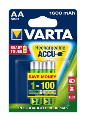 VARTA - 56716 Ready2Use Accu Mignon
